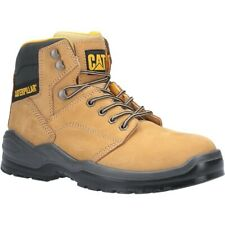 Mens Caterpillar Safety Boots CAT STRIVER Steel Toecap & Midsole S3 Leather Boot