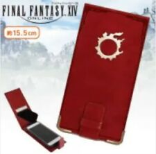 NEW FINAL FANTASY XlV FF14 PU Leather Smartphone Cover with Metal Parts Meteo