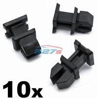 10x Mercedes Boot Trim Clips- Plastic Fasteners A12499007921 CLK CLS SL SLK etc