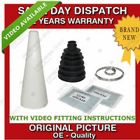 1x PEUGEOT OUTER CV UNIVERSAL STRETCH BOOT WITH CONE KIT NEW