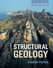 STRUCTURAL GEOLOGY - FOSSEN, HAAKON - NEW HARDCOVER BOOK