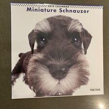 2019 Schnauzer Calendars