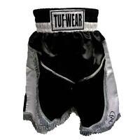 Tuf Wear Boxing Shorts Pro Hurricane - Black