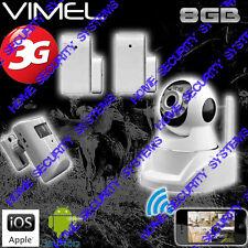 3G Camera Home Security GSM SurveillancwWireless Alarm System Farm Remote View