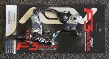 ASV F3 Brake & Clutch Lever Pro Pack Short Black Honda CRF250R CRF450R