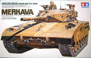 Tamiya 35127 1/35 Scale Military Model Kit Merkava MBT Israeli Main Battle Tank