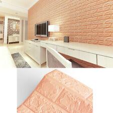 5/10pcs самоклеящиеся 3D плитка кирпичная стена наклейка Pe пены панели кирпич домашний декор