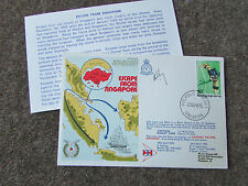 ESCAPE From SINGAPORE  1976 Hand Signed  RAF Escaping Society FDC - SEE PICTURES