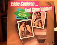 Eddie Cochran/Gene Vincent LP SS Their Finest Years PRO