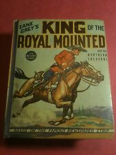 VF+ 1936 ZANE GREYS KING OF THE ROYAL MOUNTED BIG LITTLE BOOK