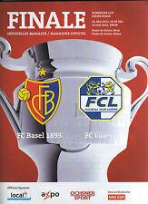 Orig.PRG    Schweizer Cup  11/12  FINALE    FC BASEL - FC LUZERN  !!  SELTEN