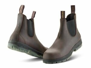 Grubs FURY SAFETY™ Safety Dealer Boot Mahogany