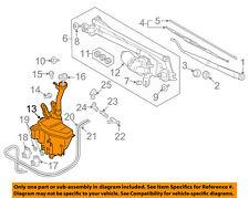 SUZUKI OEM Grand Vitara Wiper Washer-Windshield Fluid-Reservoir Tank 3845065J00