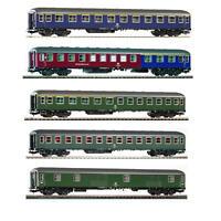 PIKO DB Era IV Passenger Cars Set 59620+59621+59622+59624+59625 Awesome Detail