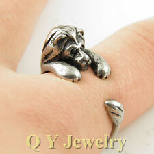 Lovely Lion Adjustable Ring New Fashion Women Silver Lucky Love Jewelry