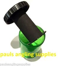 Green Large Carp / Pike Fishing Rig Bin Tidy For Hooks trace etc