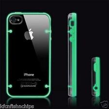 Glow in The Dark Blue Luminous Fluorescence Hard Back Cover Case iPhone 5 5S