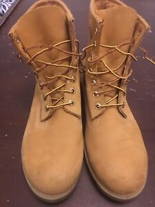 Timberland boots Wheat Nubick size 10M Made In USA