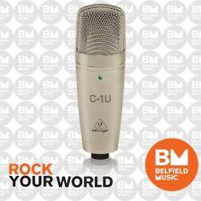 Behringer C1U USB Condenser Microphone C1-U Condensor Mic - Brand New - BM