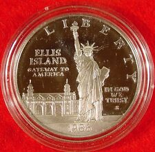 1986-S US Mint Statue Of Liberty Proof Silver Dollar Commemorative Coin Only