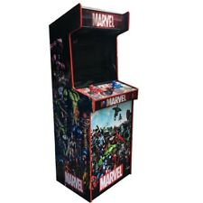 Hyperspin Arcade Machine (2 Wireless Controllers) Marvel