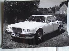 Jaguar Sovereign press photo brochure c1978 version 2