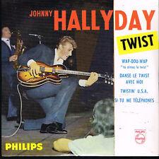 CD single: Johnny Hallyday: twist: wap-dou-wap + 3. ltd ed: N°23. universal. D1