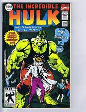 Incredible Hulk #393 Marvel 1992