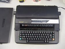 "Refurb Sharp PA3110 II Typewriter/word processor Black 12"" carriage w/warranty"