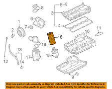 VW VOLKSWAGEN OEM 05-14 Jetta Engine-Oil Filter 06D115562