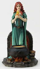 Brigid - Goddess Of Hearth & Home Irish mythology Statue Figure sculpture  Color