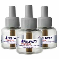 Feliway Ceva Animal Health Multicat Feliway Refill (3 Pack), 3 Pack, Basic
