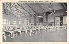 Waupun Wisconsin dining room Wisconsin State Prison antique pc Z23210