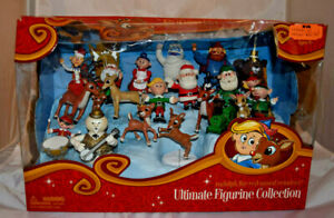 """NEW """"Rudolph the Red-Nosed Reindeer"""" Ultimate Figurine Collection"""