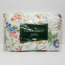Laura Ashley Floral Queen Bedskirt No-Iron 60 x 80 New