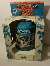 RARE VINTAGE 1993  NHL GumBall BANK Anaheim Mighty Ducks US Made