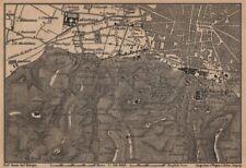 Bolonia alrededores. Certosa. Madonna di San Luca. Santo Michele en Bosco 1903 Mapa