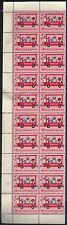 United Nations New York Scott # 161 Block Of 20 Stamps M OG NH