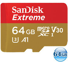 SANDISK EXTREME A1 4K microSDXC 64GB 64G micro SDXC micro SD 100MB/s* CLASS10