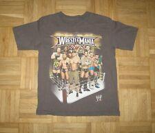 WRESTLE MANIA WW  / Junior shirt 8-9 years ???