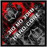 Hardcore Teeth Skull Ride Or Die Totenkopf Sterne Bandana Tuch Kopftuch Halstuch