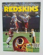 WASHINGTON REDSKINS - NFL FOOTBALL YEARBOOK - 1989 - EX++/NM SHAPE