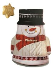 Walkers Shortbread 'Wobbly' Snowman Christmas Tin 200g - Made in Scotland