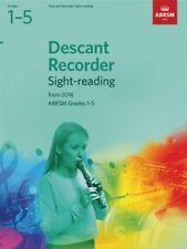 Descant Recorder Sight Reading Tests 1-5 ABRSM 9781848499836