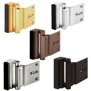 KF_ Aluminium Alloy Home Door Reinforcement Lock Defender- Security Stopper Ha