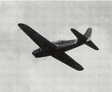 WWII Double Sided Recognition Photo Card- Judy Fighter- Japan- Airplane- Aug 44