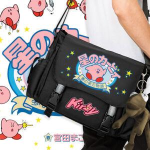 Anime Kirby:Star Allies Cosplay unisex Laptop Bag Messenger Bag Unisex Knapsack