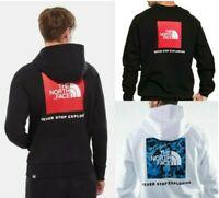 The North Face Box Hoodie Sweatshirt Crewneck Mens Hoody Pullover Fleece Jumper