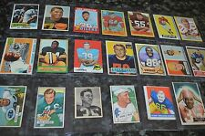 VINTAGE ROOKIE HALL OF FAMER FOOTBALL CARD COLLECTION!!! 20 CARDS TOTAL!!!
