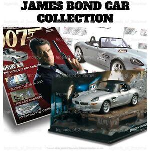 OFFICIAL EAGLEMOSS 007 JAMES BOND CAR COLLECTION - NEW